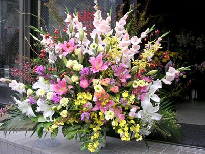 スタンド付生花